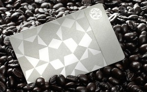 Steel Starbucks Card