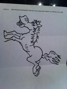 Birthday Horse!