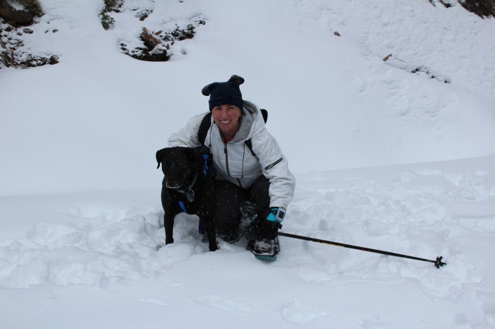 Shadow & I In The Snow