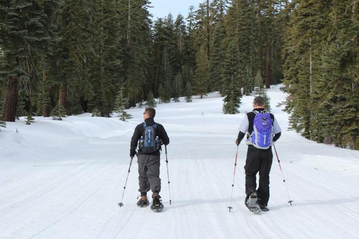 Mike & Mark Hiking