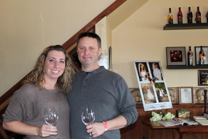 Mike & I At Sierra Ridge Winery