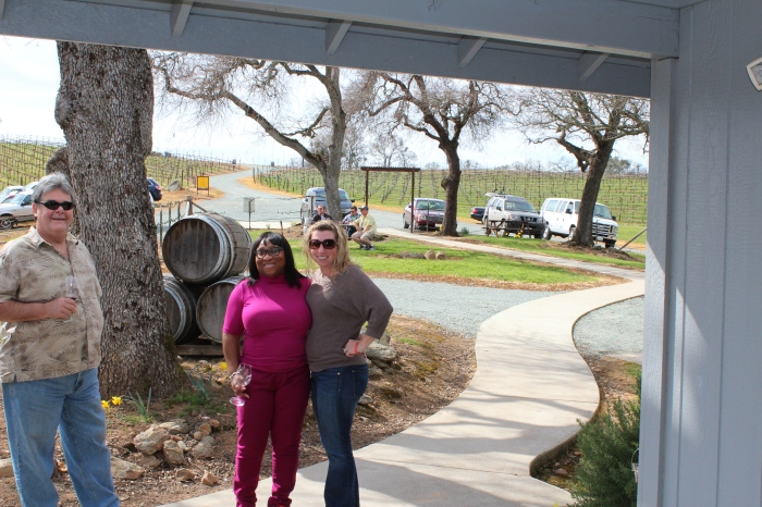 Lynn & I At Convergence Vineyards