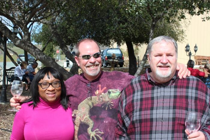 Lynn, Troy, & Tim At Borjon