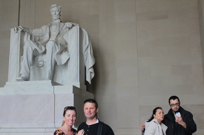 Us @ The Lincoln Memorial