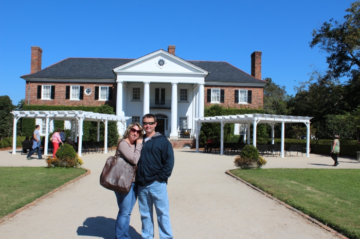 Mike & I At Boone Hall