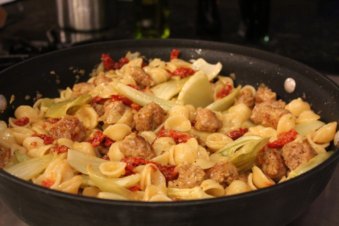 Orecchiette with Sausage & Fennel