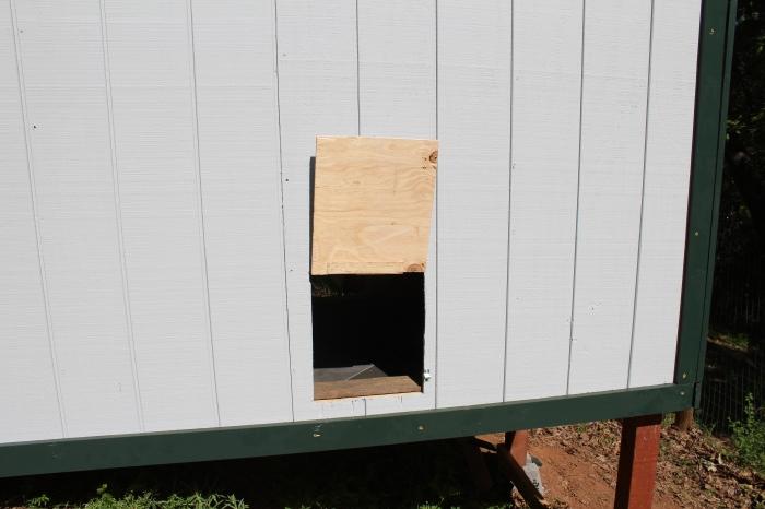 Chicken Door Side